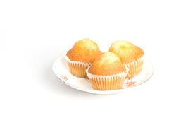 Cupcakes. The cupcakes on the plate Stock Photography