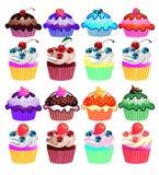 Cupcakes. Stock Photo