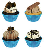 Cupcakes. Illustration of an isolated cupcakes on a white background Stock Images