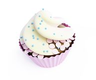 Cupcakes 3d. On a white background Stock Photos