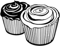 Cupcakes2 иллюстрация вектора