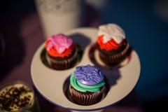 cupcakes lizenzfreies stockbild