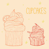 cupcakes illustration libre de droits