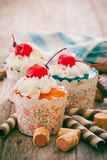 cupcakes Fotografie Stock Libere da Diritti