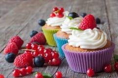 cupcakes Royalty-vrije Stock Afbeelding