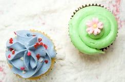 Cupcakes Stock Afbeelding