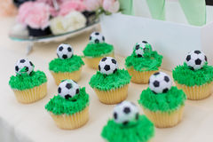 Cupcakes. Beautiful wedding cakes at wedding party,Catering food Royalty Free Stock Image