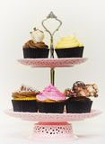 Cupcakes on a cakestand Stock Photo