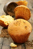 Cupcakes with caraway seeds. Royalty Free Stock Photo
