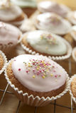 Cupcakes closeup Stock Images