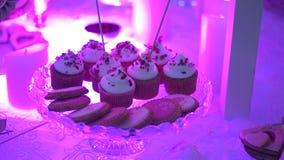 Cupcakes stock video footage