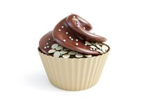 Cupcakes 3d Royalty Free Stock Image