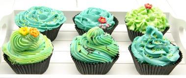 Cupcakes decorated Royalty Free Stock Photos