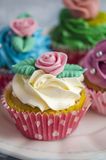 Cupcakes decorated Royalty Free Stock Images
