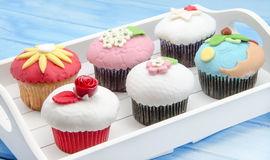 Cupcakes decorated Royalty Free Stock Photo