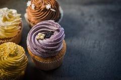 Cupcakes desert cream Royalty Free Stock Photography