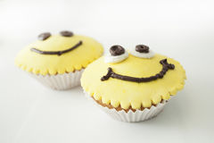 Cupcakes. In the form of a smiley Stock Photo
