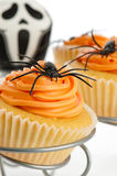 Cupcakes For Halloween Stock Image