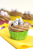 Cupcakes with icing Stock Images