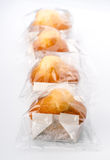 Cupcakes individually wrapped Stock Image