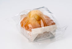 Cupcakes individually wrapped Royalty Free Stock Image