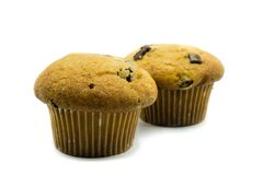 Cupcakes isolated on white background hintergrund stock photo