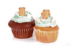 Cupcakes met Teddy Stock Foto