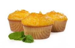 Cupcakes with orange jam Royalty Free Stock Photos