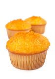 Cupcakes with orange jam Royalty Free Stock Photography