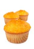 Cupcakes with orange jam Royalty Free Stock Photography