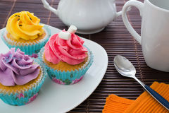 Cupcakes party Stock Image