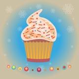 Cupcakes Pastry Shop Logo Stock Photos