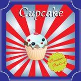 Cupcakes  poster design Stock Photo