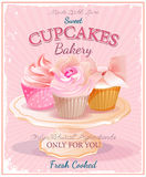 Cupcakes. Royalty Free Stock Photos