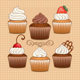 Cupcakes. Royalty Free Stock Image