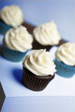 Cupcakes on stand Stock Photography