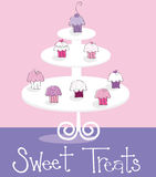 Cupcakes Sweet Treats Royalty Free Stock Photo
