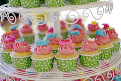Cupcakes tier Royalty Free Stock Image