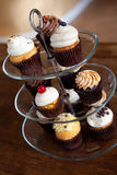 Cupcakes On a Tiered Tray Royalty Free Stock Photo