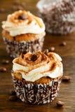 Cupcakes tiramisu Royalty Free Stock Image