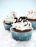 cupcakes van 2012 Stock Afbeeldingen