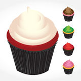 Cupcakes Variety Stock Images
