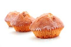 Cupcakes on white Stock Photo
