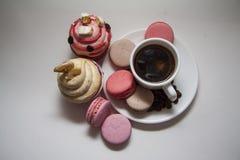 Cupcakes on white Royalty Free Stock Image