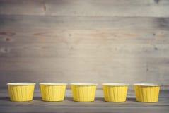 Cupcakevoeringen Royalty-vrije Stock Fotografie