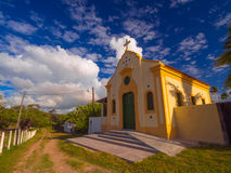 Cupe kyrka fotografering för bildbyråer