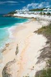 Cupecoy Beach on St Martin Caribbean Royalty Free Stock Photography