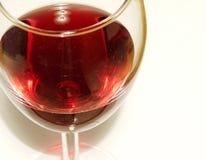 Cupful del vino Fotografia Stock