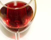 Cupful van de wijn Stock Fotografie