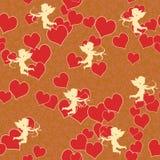 cupid καρδιά Στοκ Φωτογραφία